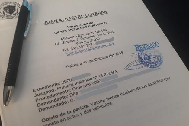 peritaje tasacion judicial divorcio mallorca juan sastre perito judicial