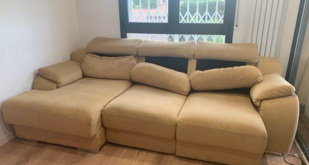 Como reclamar un sofa roto